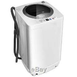 2 In 1 Autoportante Compact Automatique Laveuses Spin & Dry 3 Niveau D'eau