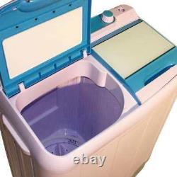 6,5 KG Mini Portable Double Bain Lave-linge Spin Sèche-linge Électrique Drainage Pompe