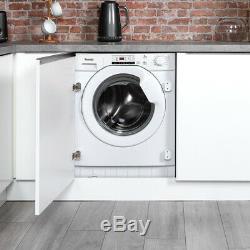 Baumatic Bwmi148d A +++ Noté 1400 RPM Intégré 8 KG Lave-linge Blanc Nouveau