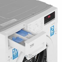 Beko Wir76540f1 A +++ Noté 1600 RPM Intégré 7 KG Lave-linge Blanc Nouveau