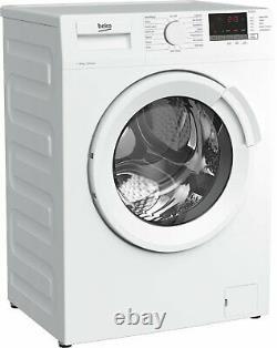 Beko Wtl104151w Position Libre 10kg 1400 Spin Machine À Laver Blanc