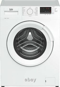 Beko Wtl92151w Free Standing 9kg 1200 Spin Washing Machine A+++ Blanc
