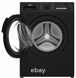 Beko Wtl94151b 9kg 1400 Spin Black Machine À Laver