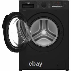 Beko Wtl94151b A +++ Noté 1400 RPM Lave 9 KG Black Machine Nouveau