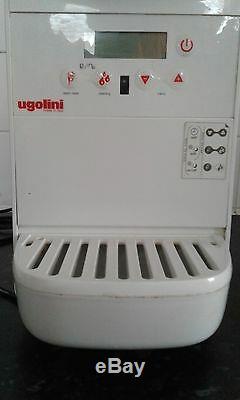 Blanc Minigel Crème Machine À Glace, Slush Machine (très Bon État) Ugolini