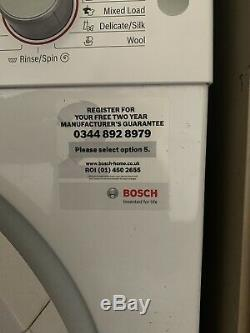 Bosch Wat28371gb De La Charge Avant Autoportant Machine À Laver Avec Ecosilence