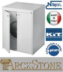 Closet Mobile Cover Protect Hide Wash Machine Wash-tub Negrari Wave Kit