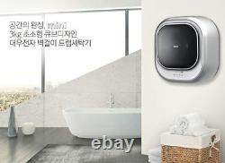 Daewoo Dwd-03mblc Mur Monté Mini Drum Washing Machine 220v