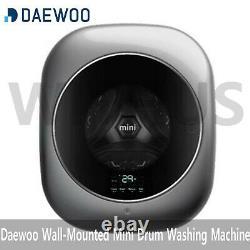 Daewoo Dwd-35mcrcr Mur Monté Mini Drum Washing Machine (220v 60hz)
