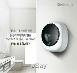 Daewoo Dwd-35mcwc Murale Mini Tambour Laveuses 220 V Appliance Ur