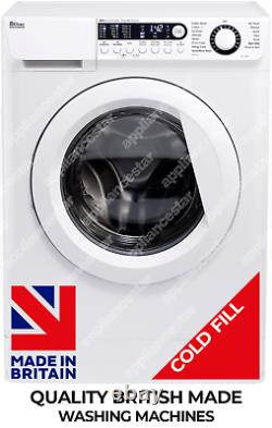 Ebac Awm96d2-wh Super Silent Washing Machine 9kg, 1600 Spin Made In Britain