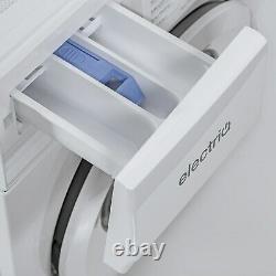 Electriq 8kg 1400rpm Machine À Laver Autoportante Blanche