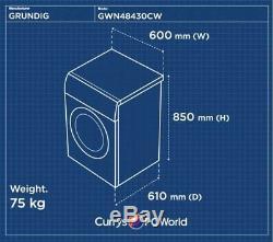 Grundig Gwn48430cw Lave-linge Blanc Currys