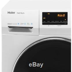 Haier Hw100-b14636 Hatrium A +++ Noté 1400 RPM 10 KG Lave-linge Blanc Nouveau