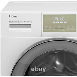 Haier Hw120-b14876 A+++ Évalué 12kg 1400 RPM Machine À Laver Blanc Nouveau