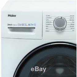Haier Hw80-b1439 A +++ Noté 1400 RPM 8 KG Lave-linge Blanc Nouveau