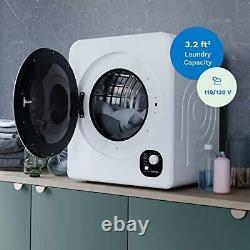Homelabs Compact Portable Blanchisserie Lave-linge Machine De Séchage Minuterie De Chargement Avant