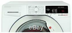 Hoover Dxoa49c3 Autoportant 9kg 1400 Spin Machine A +++ Lave-blanc