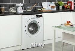 Hoover Dxoa69lw3 Position Libre 9kg 1600 Spin Machine À Laver A+++ Blanc