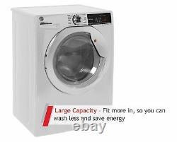 Hoover H3ws495tace Free Standing 9kg 1400 Machine De Lavage De Spin Blanc