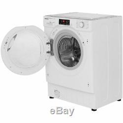 Hoover Hbwm814d H-300 Wash A +++ Nominale Intégré 1400 RPM 8 KG Machine À Laver