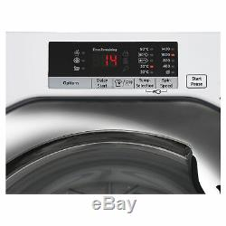 Hoover Hbwm814sac Lave-linge De Charge 1400 Spin A +++ Energy Note En Blanc