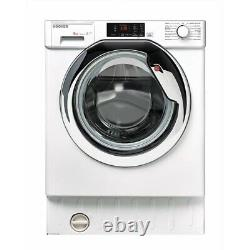 Hoover Hbwm914dc 9kg 1400 Spin Integrated Washing Machine White (5790)