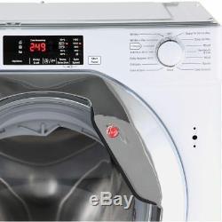Hoover Hbwm914dc A +++ Noté 1400 RPM Intégré 9 KG Lave-linge Blanc Nouveau