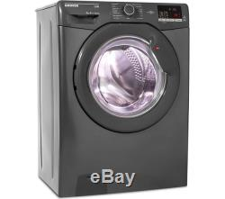 Hoover Lien Dhl 1682d3r Nfc 8 KG 1600 Spin Washing Machine Graphite Currys