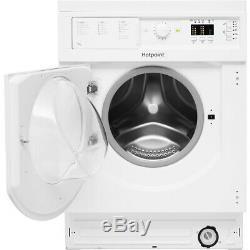 Hotpoint Biwmhl71453uk A +++ Nominale 7 KG Intégré 1400 RPM Lave-linge Blanc