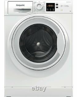 Hotpoint Nswm863cw Position Libre 8kg 1600 Spin Machine À Laver A+++ Blanc