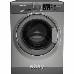 Hotpoint Nswm943cggukn A+++ Rated D Rated 9kg 1400 RPM Washing Machine Graphite