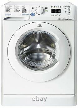 Indesit Bwa81483xwuk Free Standing 8kg 1400 Spin Machine À Laver Blanc