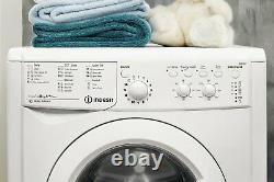 Indesit Iwc81252 Free Standing 8kg 1200 Spin Washing Machine Blanc