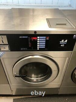 Ipso 1 X Smart 40lb 2 X 22lb Machine À Laver Commerciale