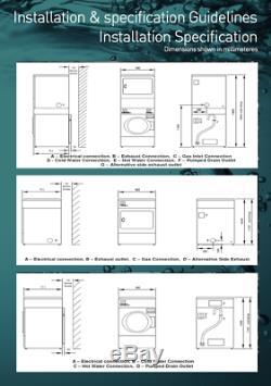 Ipso 88 Lavage Machine À Commande Manuelle Commercial / Pompe De Vidange