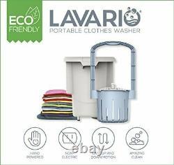 Lavario Vêtements Portable Laveuse Manuelle Machine À Laver Portable Non-électrique