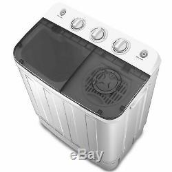 Lave-linge 7,5 KG Portable Mini Amaze Double Lave-linge Laveuse Spin Sécheuse Nouveau Royaume-uni