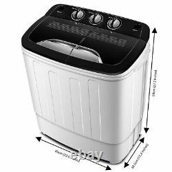 Lave-portable Machine Tg23 Double Bain Lave Avec Cycle De Lavage Et D'essorage