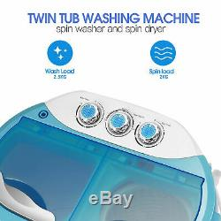 Lave-portable Mini De Amazing Baignoire Compact Clothes Lave-linge Laveuse U
