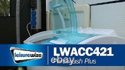 Leisiverwize Deluxe Twin Tub Laver La Machine À Laver Le Séchoir À Spin Puissance Lwacc421#
