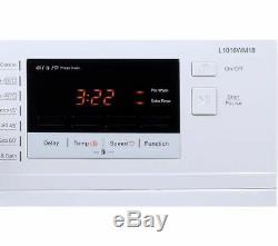 Logik L1016wm18 10 KG 1600 Spin Lave-linge Blanc Currys