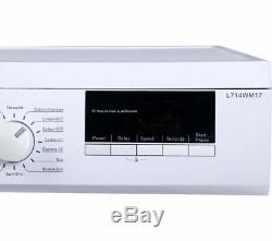 Logik L714wm17 7 KG 1400 Spin Lave-linge Blanc Currys