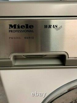 Miele Pw 6065 Vario Laveuse 3 Phase Commerciale- Acier Inoxydable-blanc