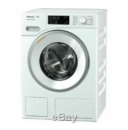 Miele Twindos Wwe660 Intelligent 8 KG 1400 Spin Washing Machine Lotus Blanc