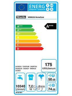 Miele Wdb036 Soins À Domicile Autoportant De Charge De Lave-linge A +++ Rendement Énergétique