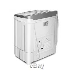 Mini Lavadora Secadora Compacta De Tina Doble De 8 Libras 110 V 23 X14x27