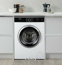 New World Nwdht914w Free Standing 9kg 1400 Spin Machine À Laver A+++ Blanc