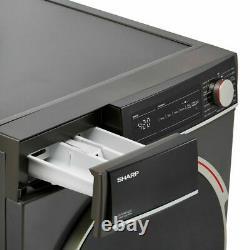 Nouveau Sharp Es-nfh014cac-en 10kg Machine De Lavage Autonome Graphite Collect