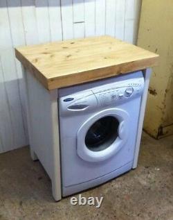 Pine Freestanding Handmade Appliance Gap Unit Lave-vaisselle Lave-linge